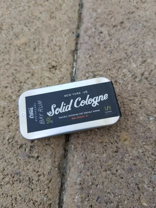 Odouds Solid Cologne Bay Rum