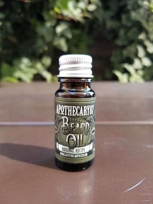 Apothecary87 Beard oil  Original Recipe 10ml