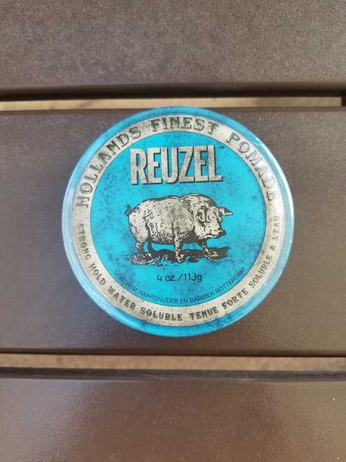 Reuzel Blue Strong Hold Water Based