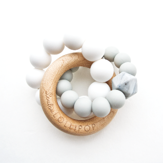 Trinity Wood & Silicone Teether