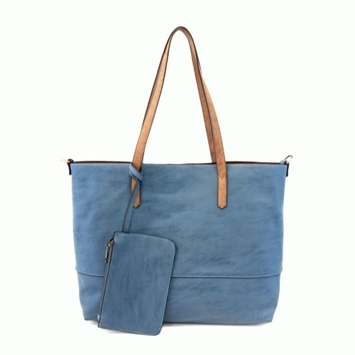 Brushed French Blue 2 in 1 Tote