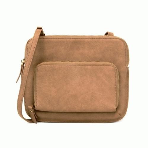 New Nicole Crossbody Bag Toffee