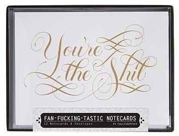 Fan F*ingtastic Notecards