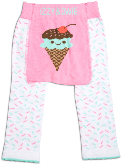 Pink and Mint Ice Cream Leggings