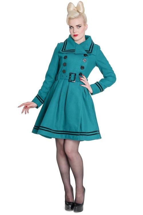 Millie Coat in Teal