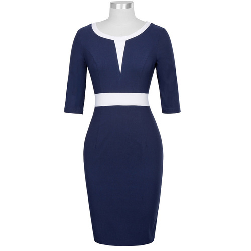 Lori Dress in Navy  or Black