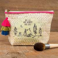 Canvas Pouch Wander Lost