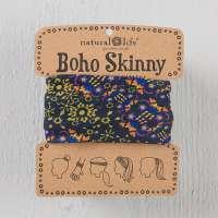 Black Gold Garland Skinny Boho Bandeau
