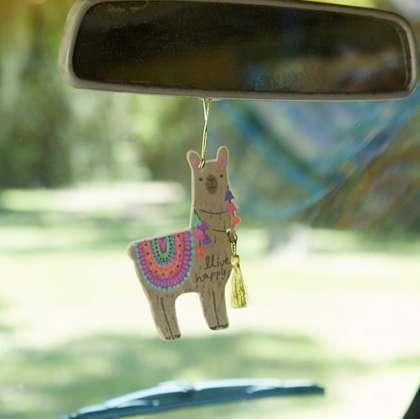 Llive Happy Llama Air Freshener