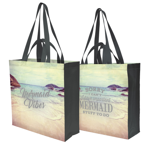 Mermaid Vibes Market Tote