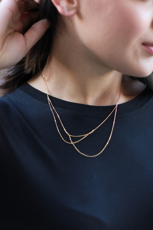 Alaba Necklace- gold