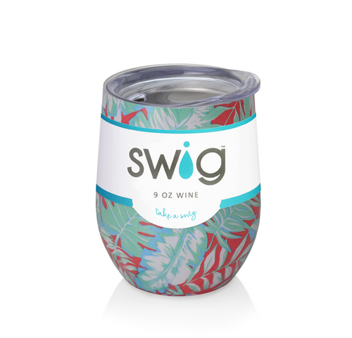 Tropical Swig Wine Cup- 12oz