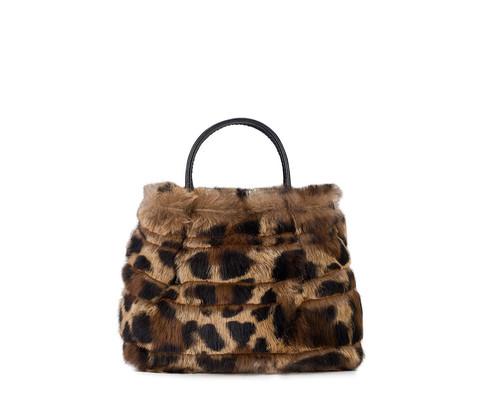 Rabbit Fur Bag - Small