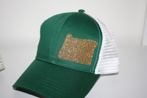 Hank Orange Green w/ Gold Hat