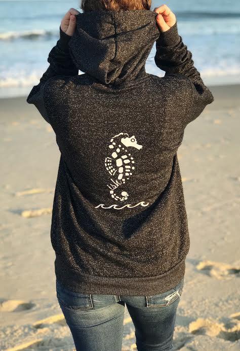Seahorse Wave Hoodie