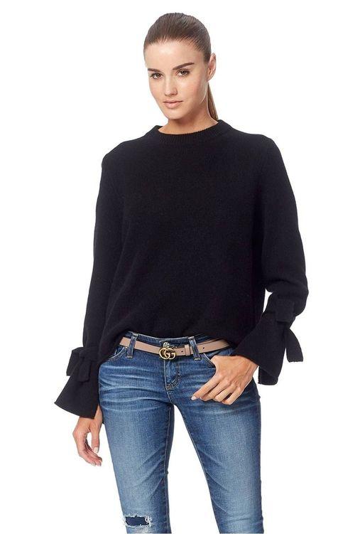 Erika Sweater w/ tie sleeve