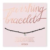 Shine Bright Black Wishing Bracelet