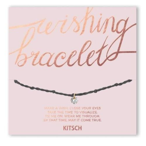 Be Bold Grey Wishing Bracelet