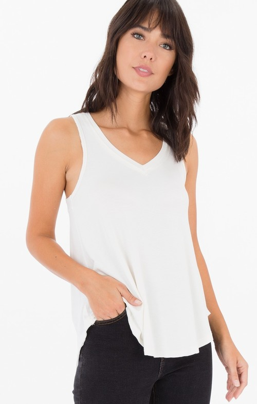 The Shimmer Swing Tank Pearl