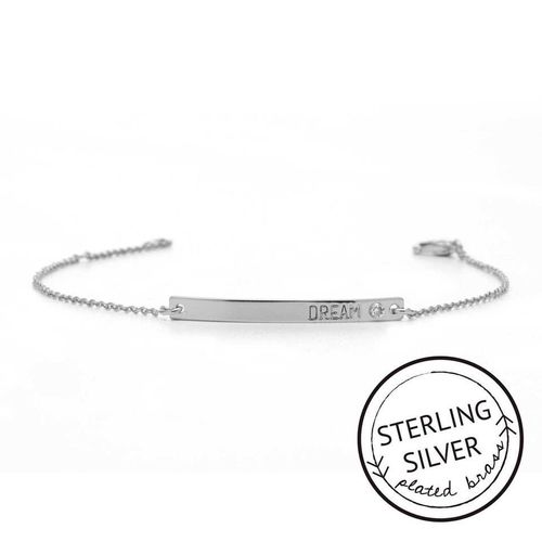 Dream Sterling Silver Boxed Bracelet