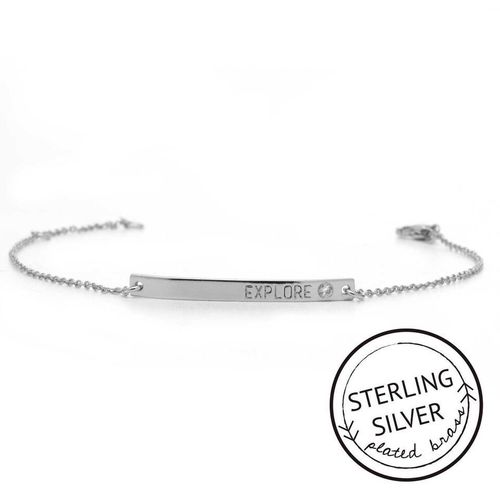 Explore Sterling Silver Boxed Bracelet