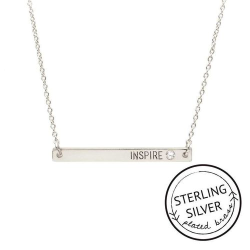 Inspire Sterling Silver Boxed Necklace