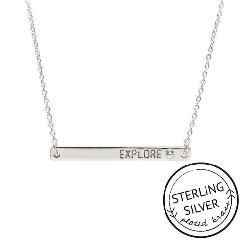 Explore Sterling Silver Boxed Necklace