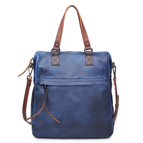 Gabriella Navy Carry All