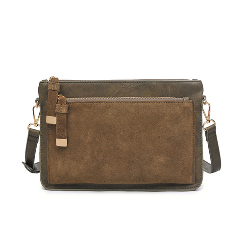 Olive Cross Body Penny Bag