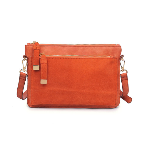 Rust Cross Body Penny Bag