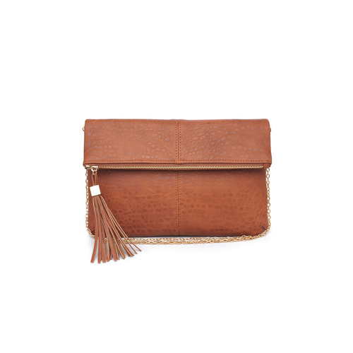 Fold Over Saddle Melodie Clutch