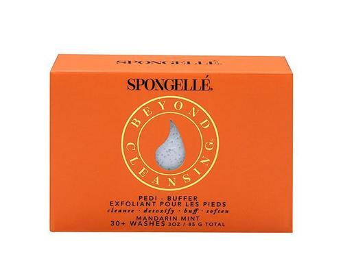 Spongelle Pedi Buffer Mandarin Mint