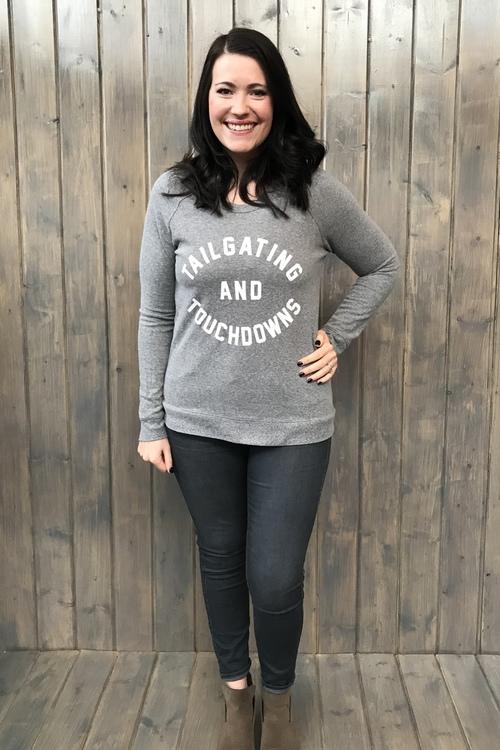 Tailgating & Touchdowns Sweatshirt Pullover