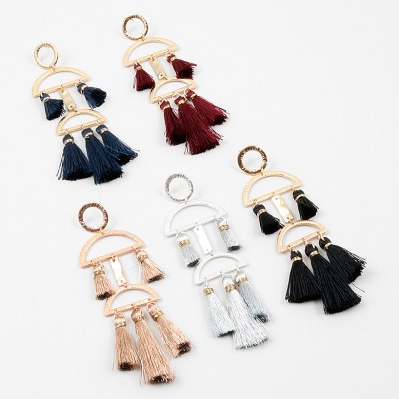 Deco Tassel Long Dangle