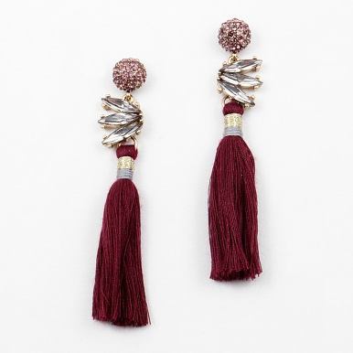 Deco Gem Tassel Dangle