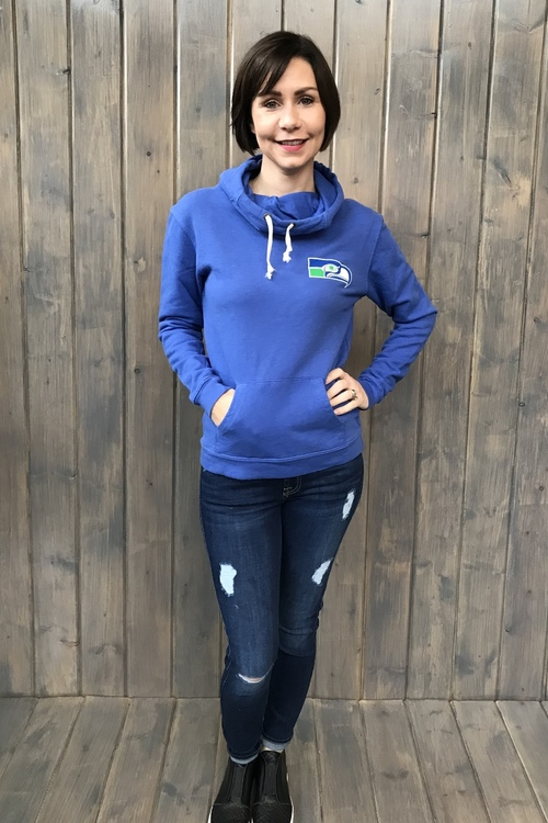 Seattle Seahawks Funnel Neck Hoody
