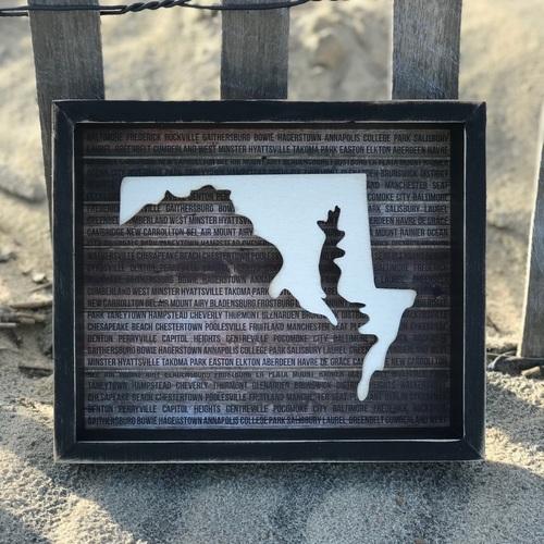 Maryland Box Sign