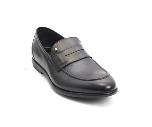 Black Nappa Leather Classic Dress Shoes