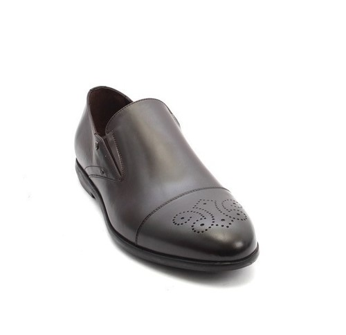 Dark Brown Leather Classic Dress Shoes