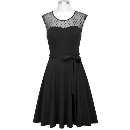 Mona Dress (Black or Navy)