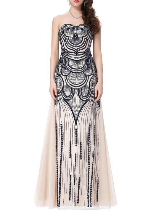Gatsby Gown in Cream