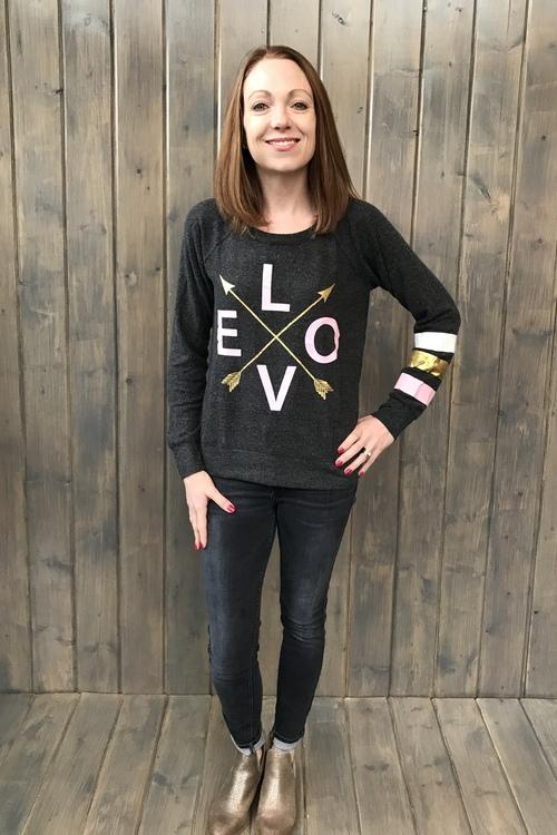 Love Arrows Pullover