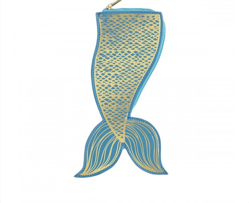 Mermaid Tail Hideaway Pouch