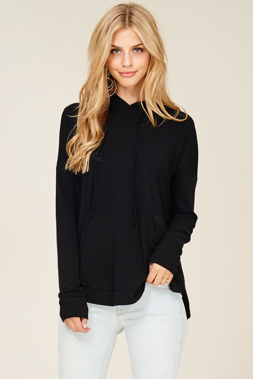 Super Soft Side Slit Hoodie