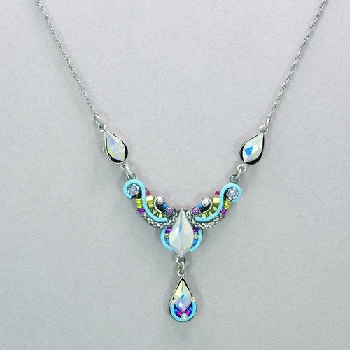 Teardrop Dangle Necklace
