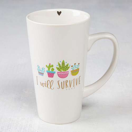Survive Latte Mug