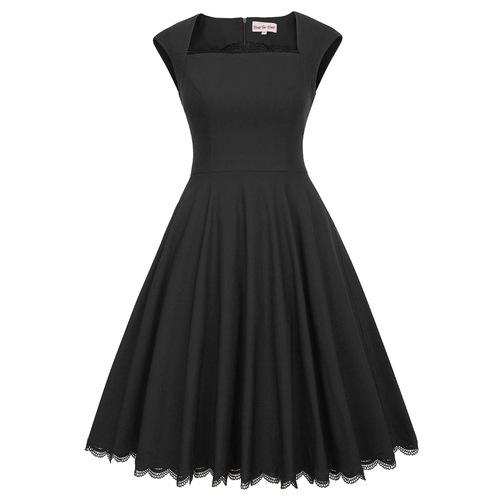 Aubrey Dress in Black