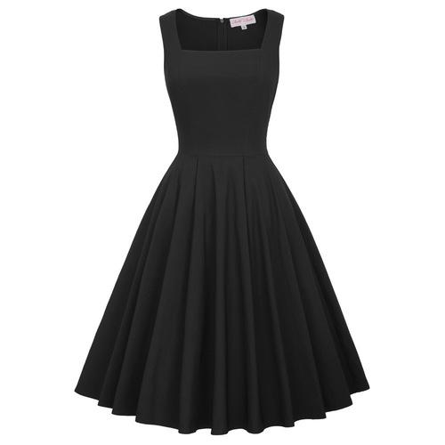 Nora Dress in Black