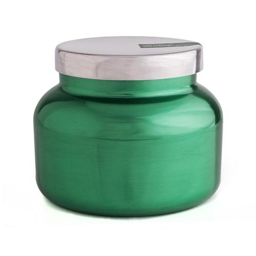 Green Metallic Volcano Candle 19oz