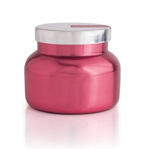 Pink Metallic Peppermint Candle 19oz